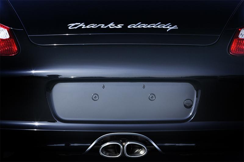 Name Your Porsche - Individuelle Typangabe für alle Porschemodelle