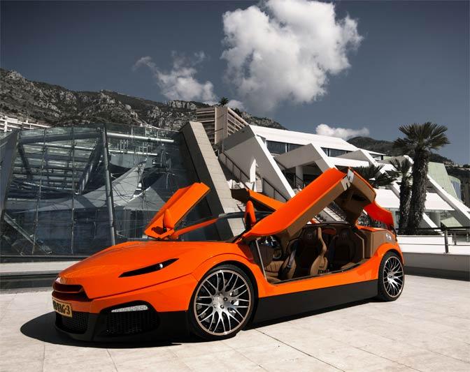 Top Marques Monaco 2012 - Exklusive Autoshow im Grimaldi-Forum von Monaco