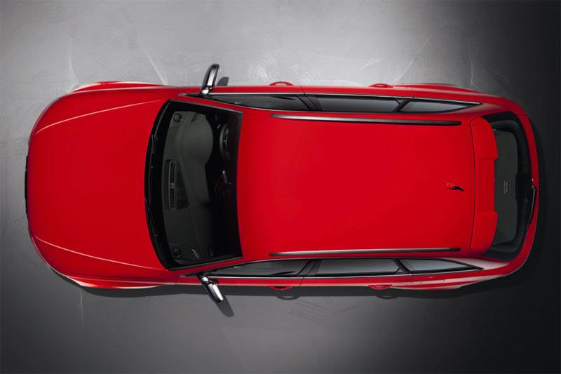 Neuer Audi RS4 Avant von oben