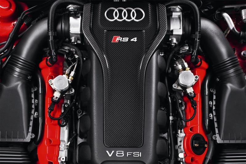 Neuer Audi RS4 Avant - Motor