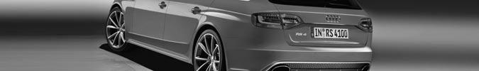 Audi RS4 Avant - Comeback des exklusiv-sportlichen Kombis in der dritten Generation