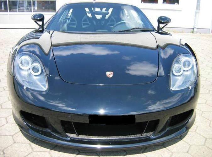 GSchwarzer Porsche Carrera GT in scheckheftgepflegten fast neuem Zustand zu verkaufen