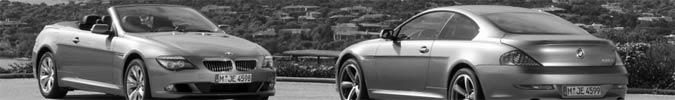 BMW 6er Coupé und Cabrio