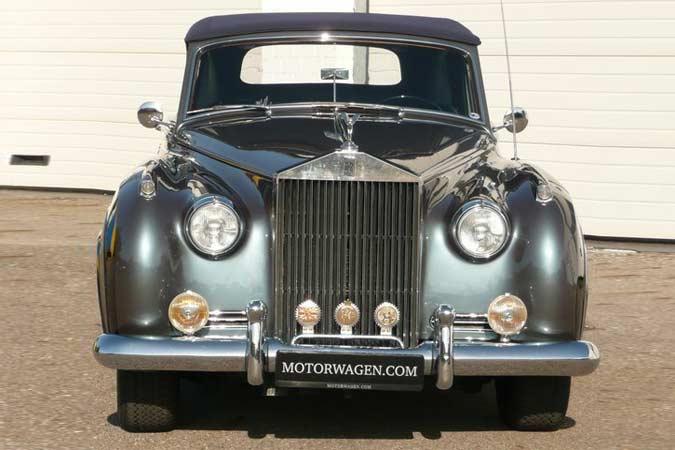 gebrauchtwagen oldtimer rolls royce silver cloud ii cabriolet zu verkaufen. Black Bedroom Furniture Sets. Home Design Ideas