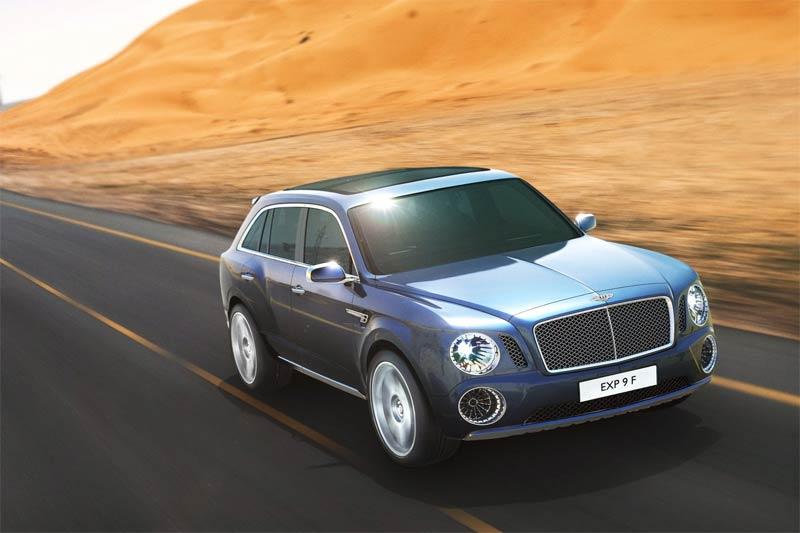 Bentley EXP 9 F Konzeptfahrzeug - Luxus SUV von Bentley mit Allradantrieb