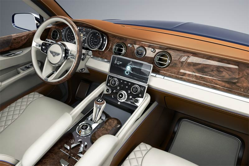 Bentley EXP 9 F Konzeptfahrzeug - Luxus SUV von Bentley