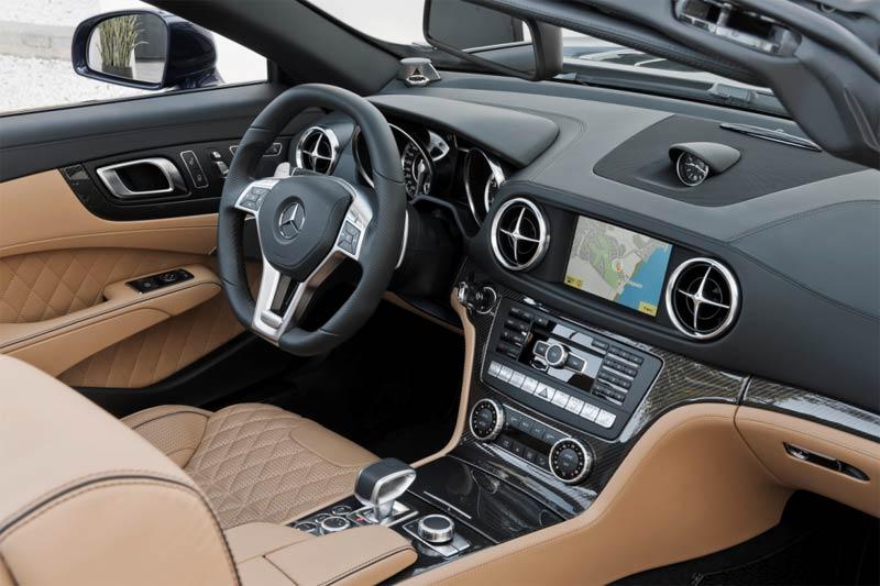 Der neue Mercedes-Benz SL 65 AMG Interieur