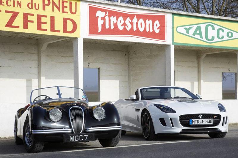 Jaguar F-TYPE auf den Spuren von Jabbeke