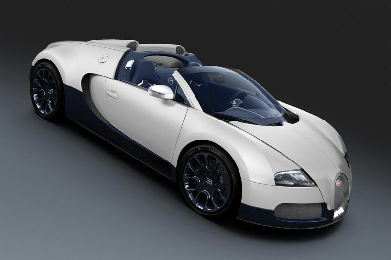 Bugatti Veyron Super Sport Blue Carbon