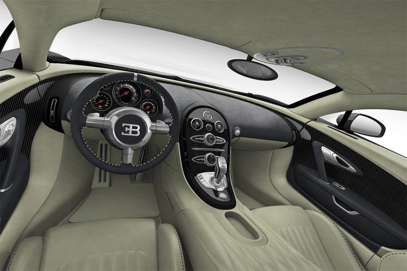 Bugatti Veyron Super Sport Black Carbon Innenraum