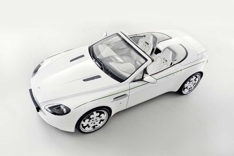 Graf Weckerle Imperialwagen - Blanc de Blancs Aston Martin V8 Vantage Roadster