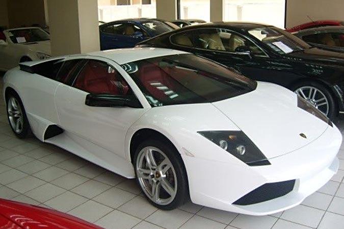 Gebrauchtwagen Lamborghini Murcielago LP640 E-Gear bianco monocerus zu verkaufen
