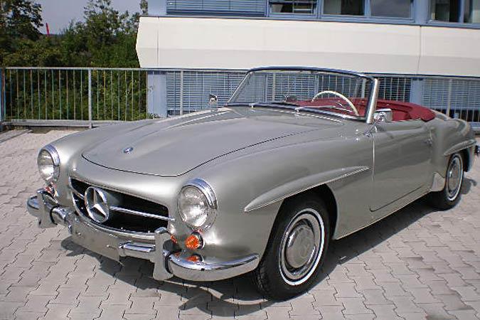 Komplett restaurierter Oldtimer Mercedes-Benz SL 190 zu verkaufen