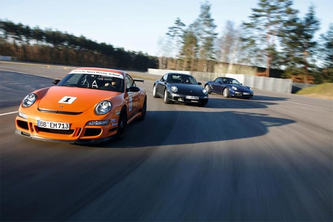 Porsche Sport Driving School - Fahrtraining für Porschefahrer