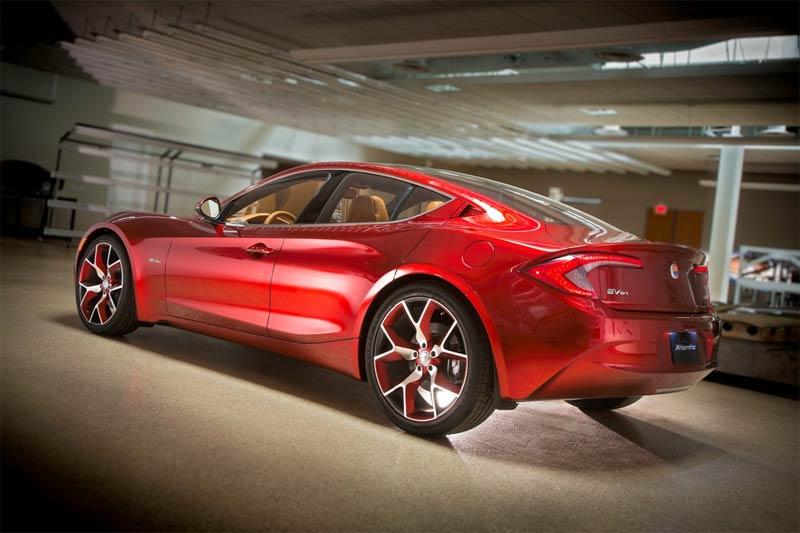 Fisker Atlantic - Fisker präsentiert neues Elektro-LuxusautoL