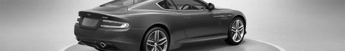 Web Konfigurator für den Aston Martin Virage