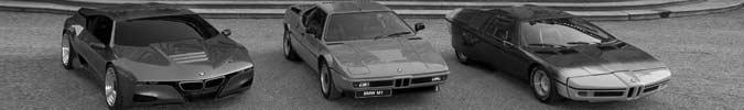 BMW M1 - M-One Supersportwagen