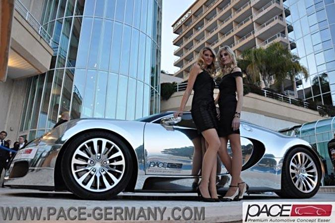 Verchromter Bugatti Veyron Pur Sang Nummer 1 von 5 zu verkaufen