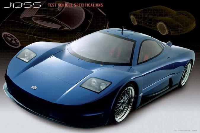 SLS Joss JB1 - neuer Supersportwagen aus Australien