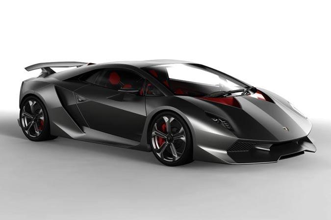 Supersportwagen Lamborghini Sesto Elemento