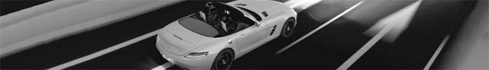SLS AMG Roadster - puristischer Supersportwagen im edlen Outfit