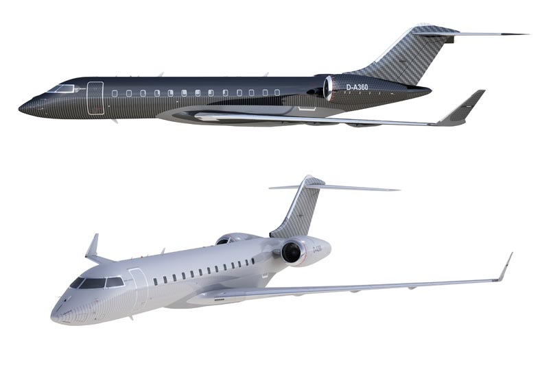 BRABUS Private Aviation - Automobiler Edeltuner personalisiert Business Jets