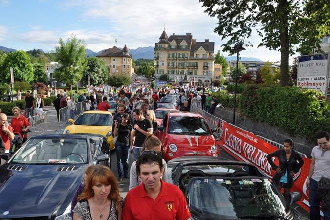 Fotos und Bilder vom 13. Sportwagenfestival in Velden am Wörthersee