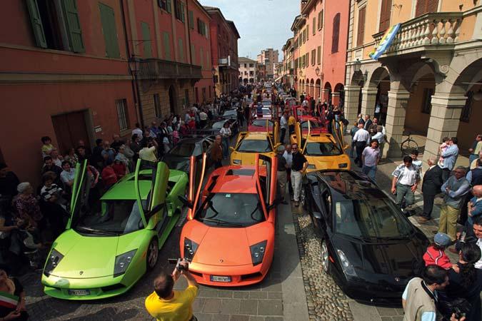 Lamborghiniregistry.com - Spezialsite für Lamborghini-Besitzer und Fans von Lamborghini