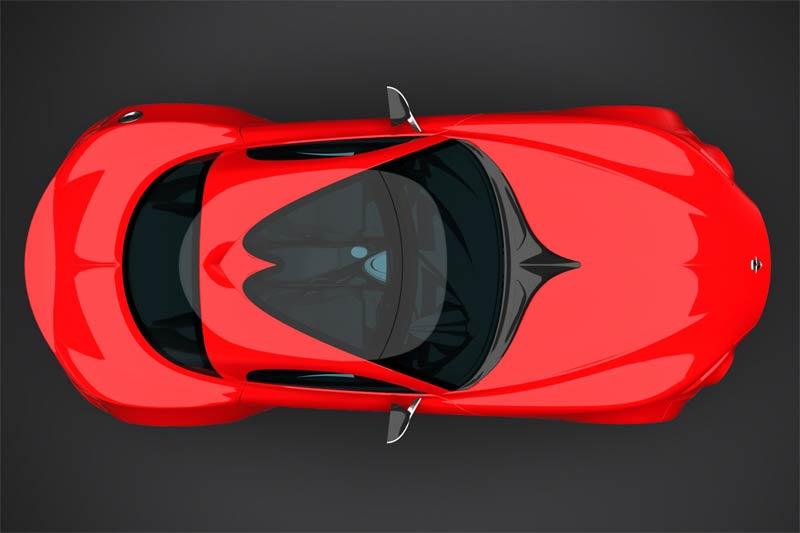 Rossin-Bertin Vorax - brasilianischer Supersportwagen als Coupé