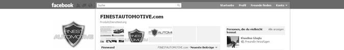 FINESTAUTOMOTIVE.com bei facebook - Gefällt mir!
