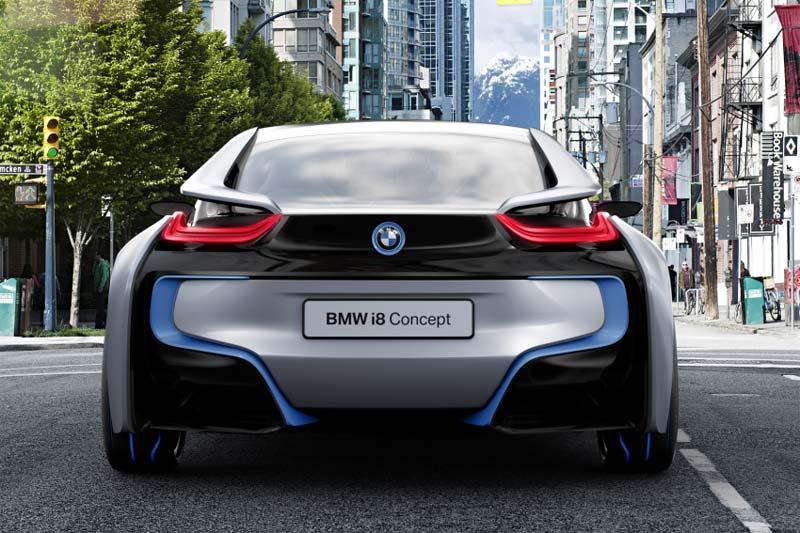 bmw i8 concept hybridsportwagen f r die individuelle mobili t finestautomotive magazin f r. Black Bedroom Furniture Sets. Home Design Ideas