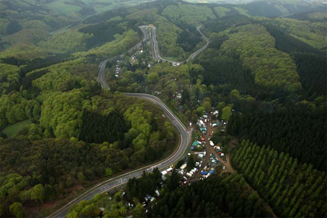 Nürburgring Touristenfahrten auf der Nordschleife