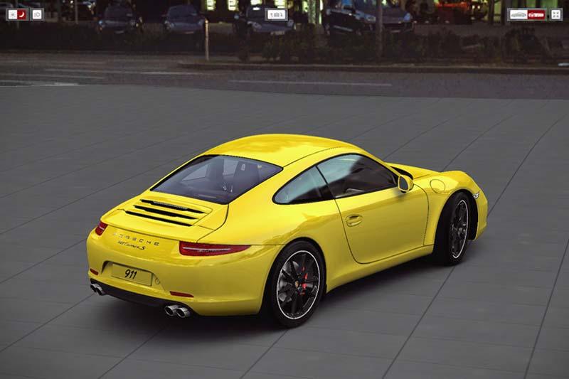 Porsche 911 Car Configurator