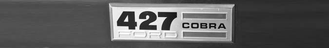 Legendäre AC Shelby Cobra mit sieben Litern Hubraum aus dem Jahre 1966
