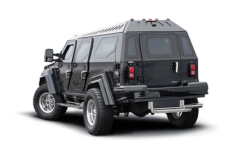 Security SUV für VIP´s - Knight XV by Conquest Vehicles