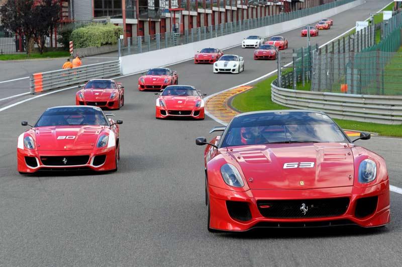 Ferrari Corse Clienti - exklusives Rennprogramm für Ferrari-Kunden