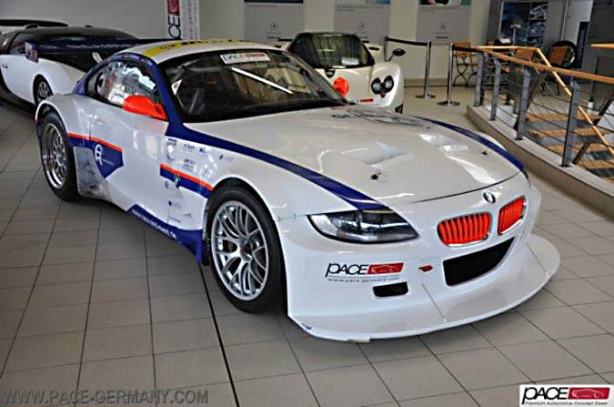 Werksrennwagen BMW Z4 M Coupé - einer von 12 Stück - Ready to Race