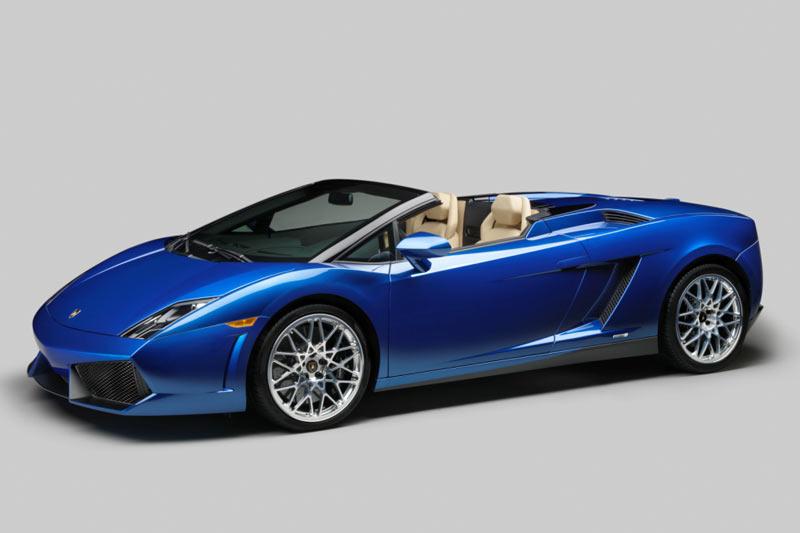 Der neue Lamborghini Gallardo LP 550-2 Spyder - supersportlicher Open-Air-Fahrspaß