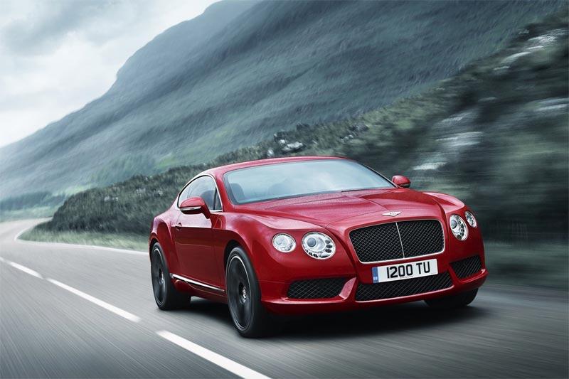 Das ist die neue Bentley Contintal V8-Baureihe - GT Coupé und GTC Cabriolet