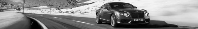 Bentley Contintal V8-Baureihe - GT Coupé und GTC Cabriolet