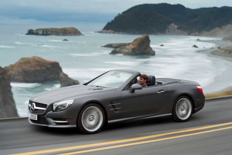 Die neue Generation des Mercedes-Benz SL - Luxusroadster mit Variodach