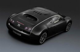 Bugatti Veyron Super Sport Black Carbon