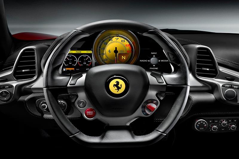 Bedienungsanleitung Ferrari 458 Italia