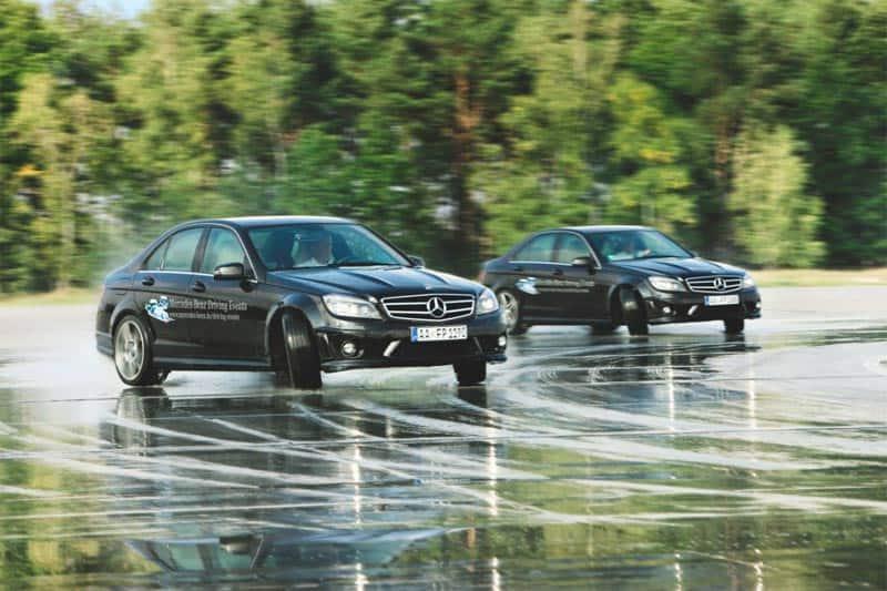 Mercedes Benz Fahrsicherheitstraining