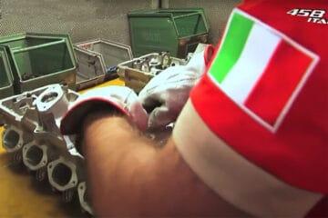 Ferrari 458 Italia Motorenfertigung