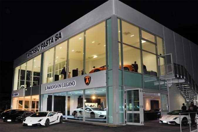 Lamborghini Lugano Schweiz