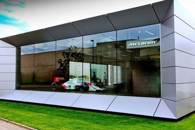 McLaren Showroom Düsseldorf