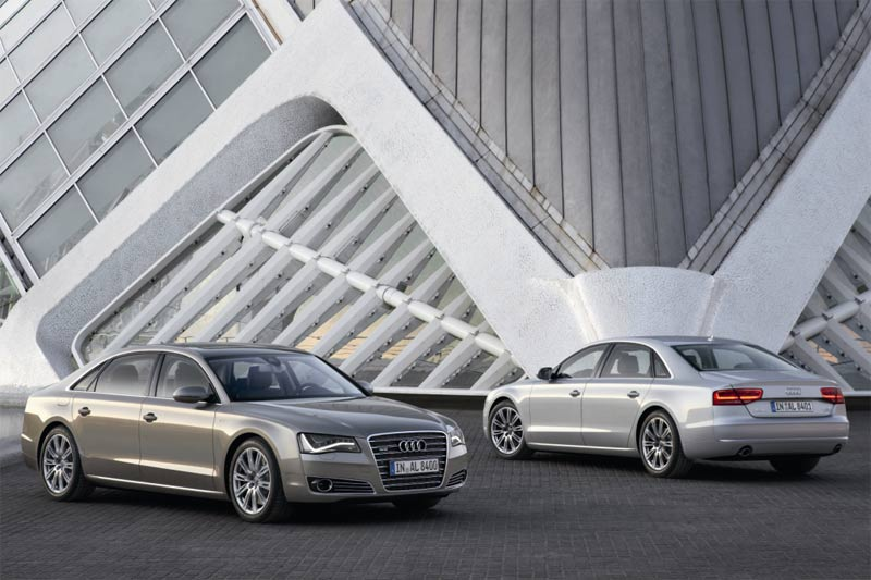 Die Audi A8 Langversion