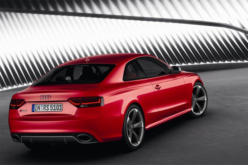 Das Audi RS 5 Coupe mit V8-Motor