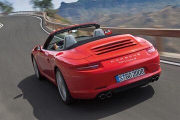 Das neue Porsche 911 Carrera Cabrio